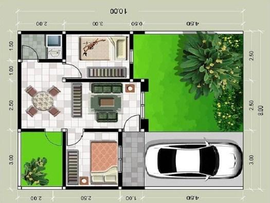 Foto Rumah Minimalis Type 36 60 Dan 36 72 1 Lantai Dan 2 Lantai