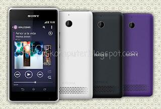 Sony Xperia E1 android sejutaan yang baik