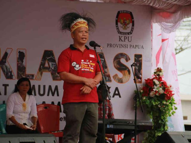 KPU Papua Larang Anggota Berpihak ke Salah Satu Calon Presiden pada Pemilu 2019