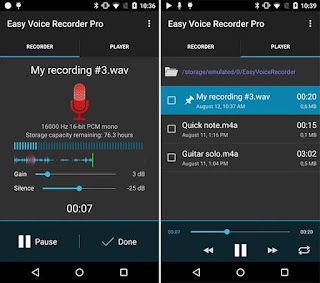 تحميل تطبيق Easy Sound Recorder Pro