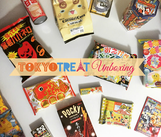 TokyoTreat -  Japanese Candy: II Unboxing | Inspirily