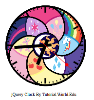 To Create An Analog Clock With jQuery And CSS3