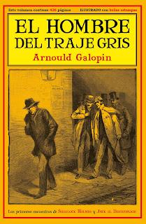 El hombre del traje gris: los primeros encuentros de Sherlock Holmes y Jack el Destripador, por VV.AA.