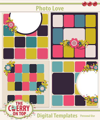 hoto Love Scrapbooking Templates