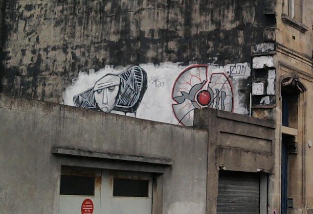 tag de rue, Bordeaux