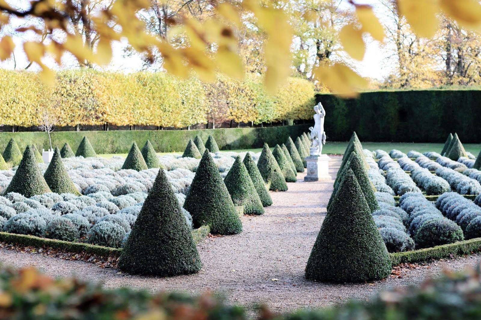 Beautiful gardens of Ham House in Richmond