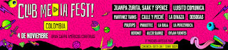 CARTEL CLUB MEDIA FEST COLOMBIA No. 3 2018