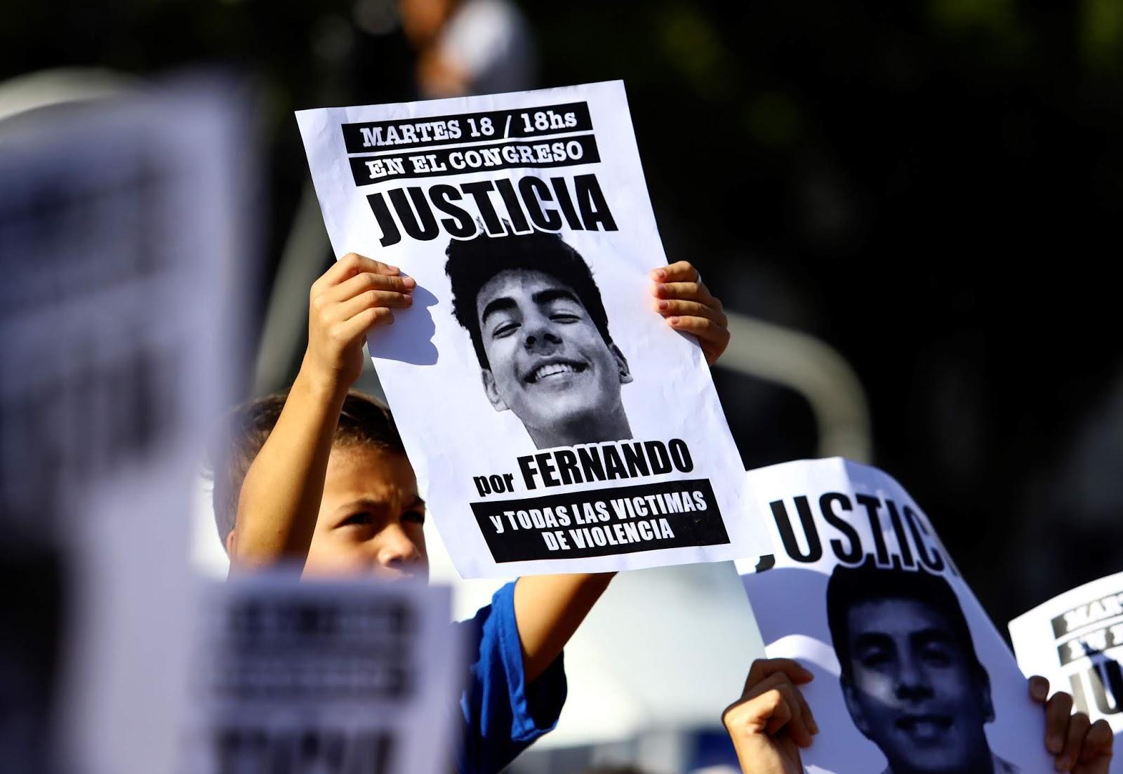 Crimen en Villa Gesell: Encuentran material genético de Blas Cinalli debajo de las uñas de Fernando Báez Sosa