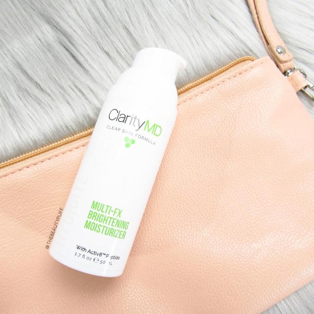 claritymd multi-fx brightening moisturizer - the beauty puff