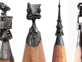 Keren!!! Patung Mini dari ujung Pensil ini pasti membuat kamu terkagum-kagum! - Responsive Blogger Template