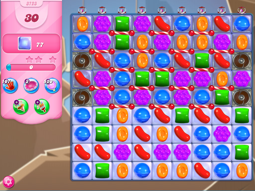 Candy Crush Saga level 3723
