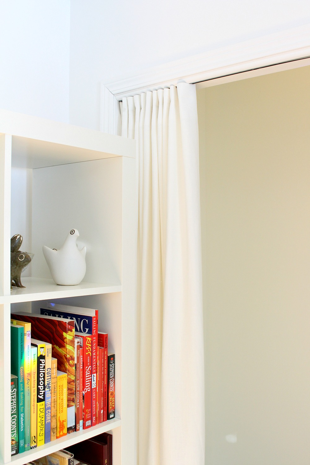 Gathered Curtain Tutorial