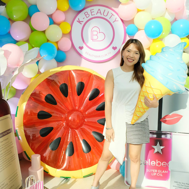 a photo of K Beauty by Beauty Bar event at Okada Manila, launching brands Yadah, COSRX, Dear, Klairs, Neogen and Celebeau.  Written by Nikki Tiu of www.askmewhats.com