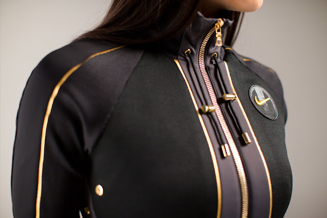 N98 Jacket feminina NikeLab X Olivier Rousteing