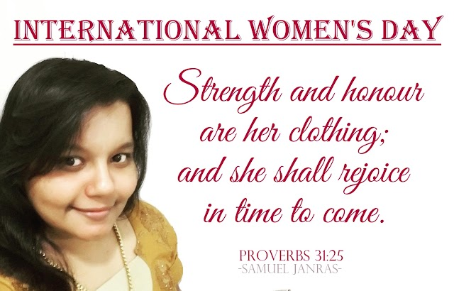 Women's Day Bible Verse Greetings