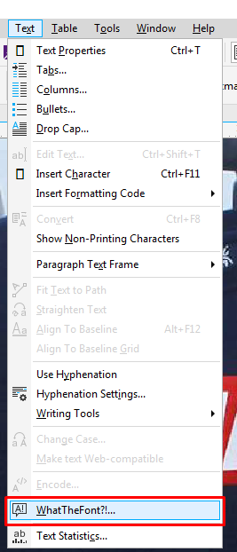 Cara Mengetahui Jenis Font Di Coreldraw : mengetahui, jenis, coreldraw, Mengetahui, Jenis, Coreldraw