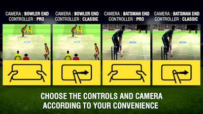 World Cricket Championship 2 controls