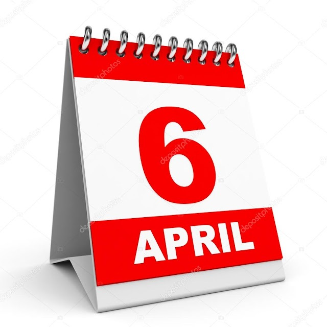 6 de Abril- O dia de hoje na história: fatos e acontecimentos em Elesbão Veloso.