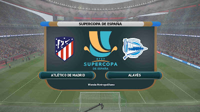 PES 2019 Scoreboard Supercopa de España 2019 by Hova_Useless