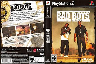 Bad Boys 2 Miami Takedown PS2 DVD Capa