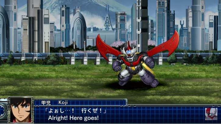 Mazinger Z Super Robot Wars T