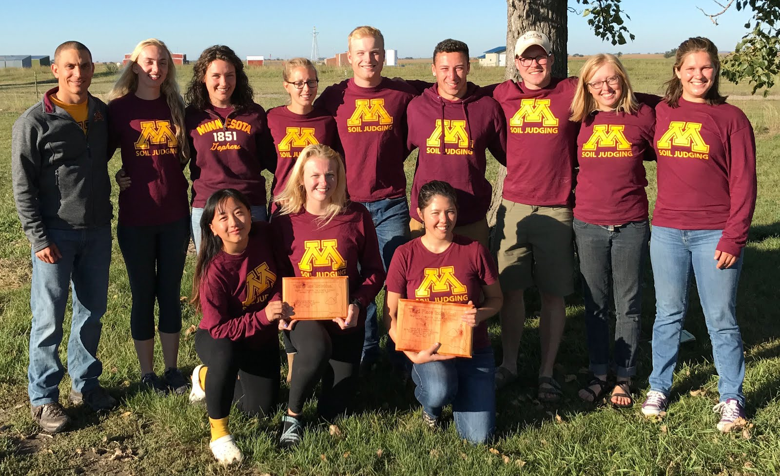 2017 University of Minnesota ASA Regional Soil Judging Team
