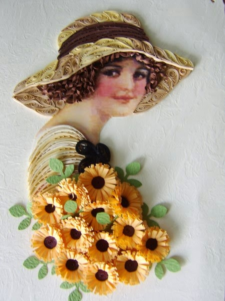 Quilling Art Female New Art Projects Craft Ideas