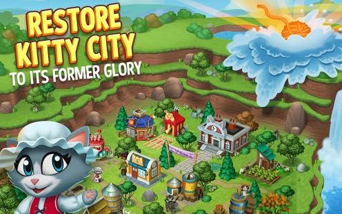 Kitty City: Kitty Cat Farm Simulation Game v12.002 [Mod]