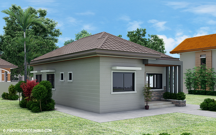 10 small home blueprints and floor plans for your budget for Simple house designs 3 bedrooms
