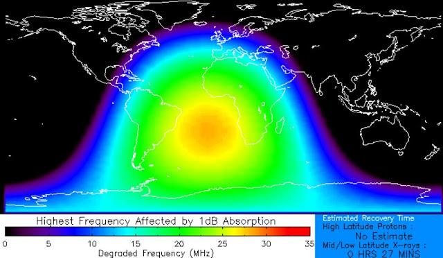 apagão de rádio 28 de dezembro de 2015 - explosão solar