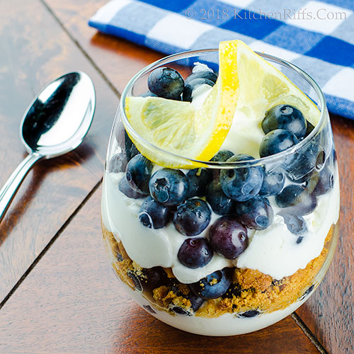 Blueberry-Lemon Parfait
