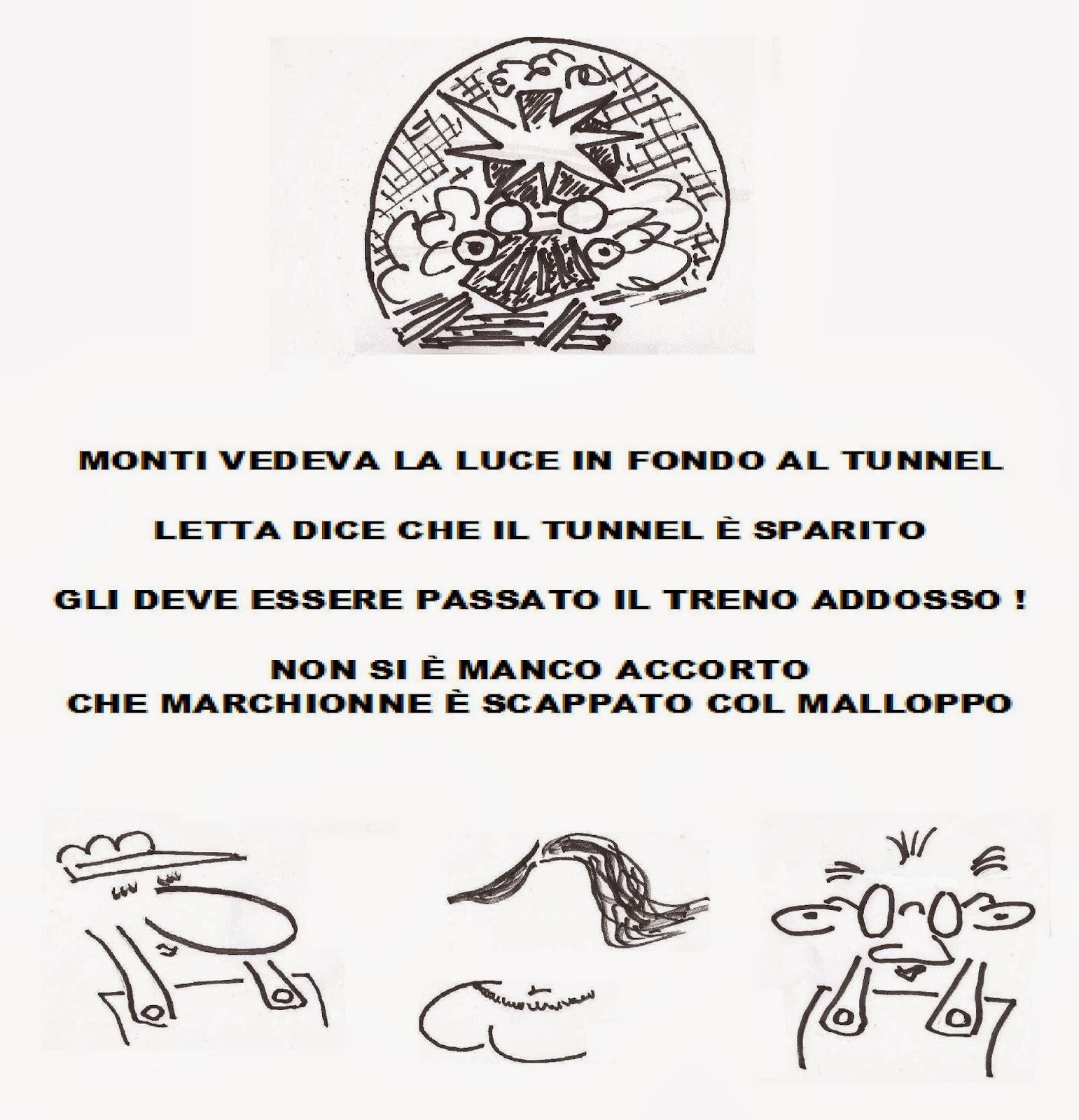 Il Tunnel La Vignetta Eccezionale Di Aldo Arpe
