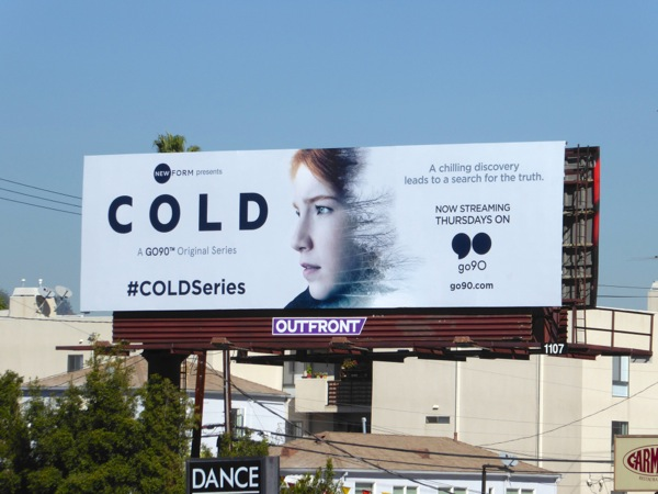 Cold TV series billboard
