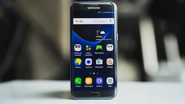 إطلاق نسخة جديد بالأسود اللامع من غالاكسي إس7 إيدج / Samsung Galaxy S7 Edge