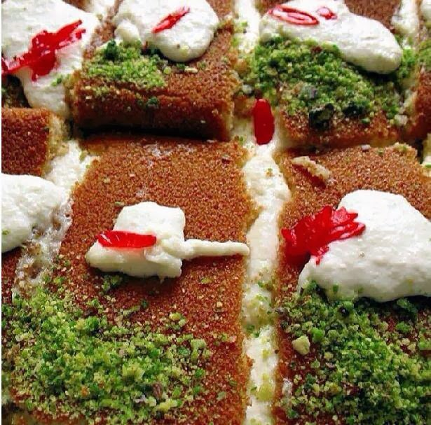 Kanafeh recipe arabic food recipes kanafeh recipe forumfinder Choice Image