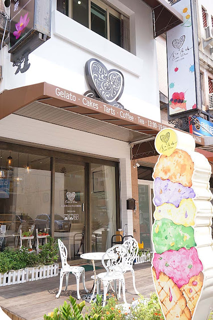 DSC01981 - 熱血採訪│隱藏在台中七期的藍帶甜點,金心盈福Cuore D'oro法義甜點