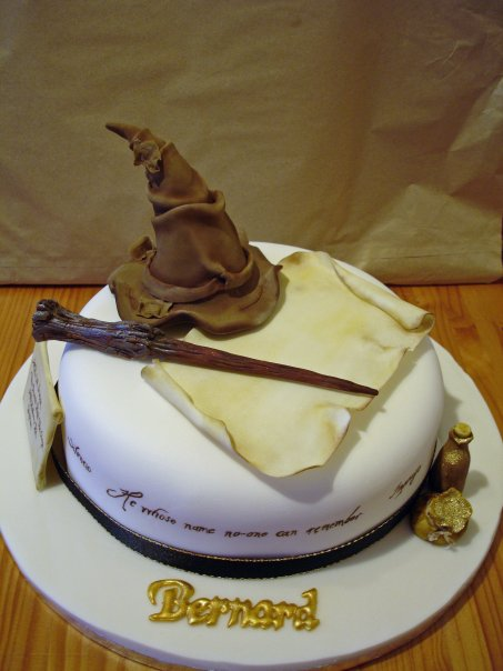Harry Potter Birthday Cake Recipe Birthday Invitation