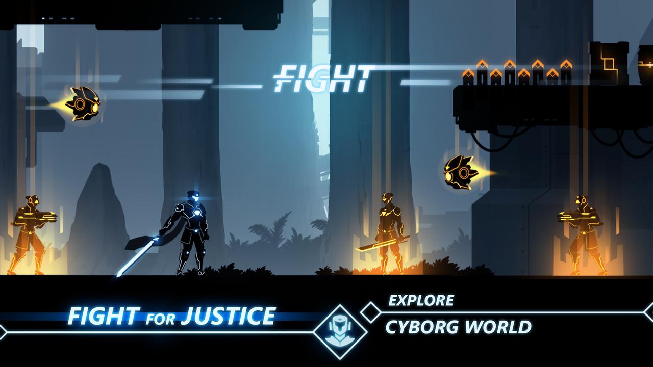 Overdrive Ninja Shadow Revenge MOD APK
