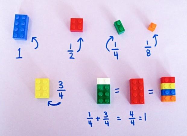 Como ensinar matemática usando Lego