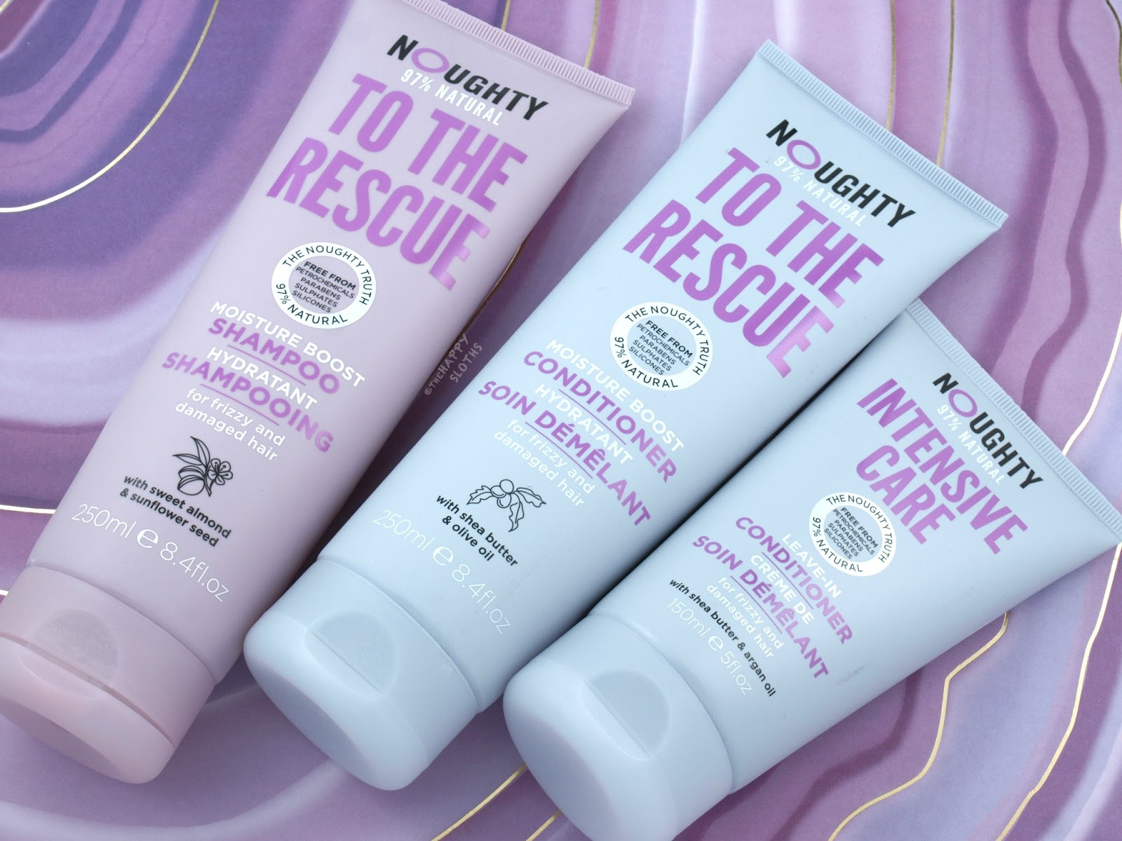 Noughty Haircare Review | To The Rescue Shampoo & Conditioner: Review