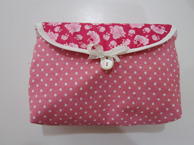 neceser maquillaje, cosmetics bag, brochas, brush roll, costura, couture, sewing