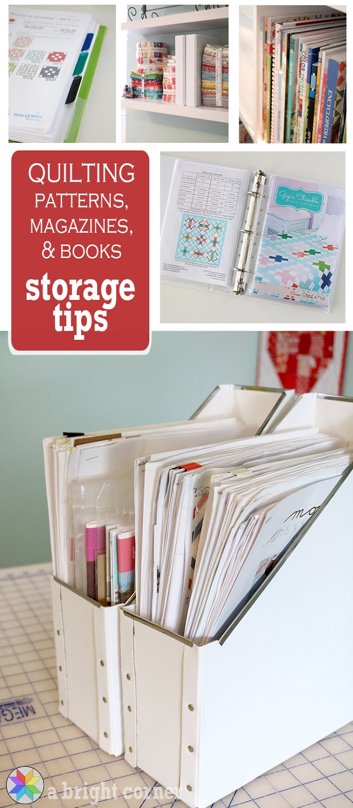 A Bright Corner: Sew Organized Part 2: Tips for Storing ...
