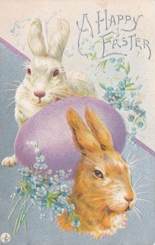 vintage easter bunny - photo #13