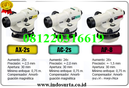 Jual Automatic Level NIKON AP-8 Medan