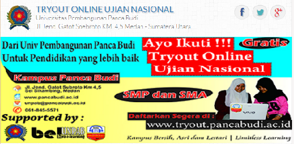 Try Out UNBK 2017 SMP SMA SMK Online