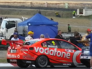 VODAFONE SPONSORED RACE CAR