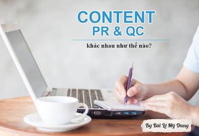 CONTENT QUẢNGCÁO & CONTENT PR
