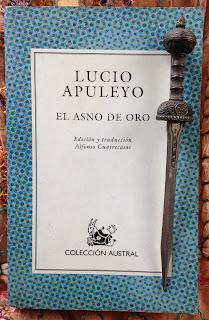 Portada del libro El asno de oro, de Lucio Apuleyo