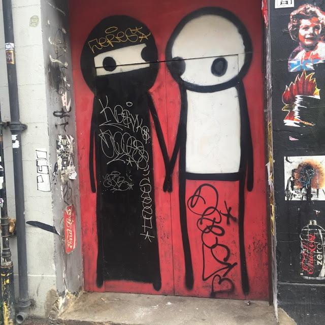 Shoreditch Street Art http://psychologyfoodandfitness.blogspot.co.uk/2016/08/travel-shoreditch-photo-diary.html