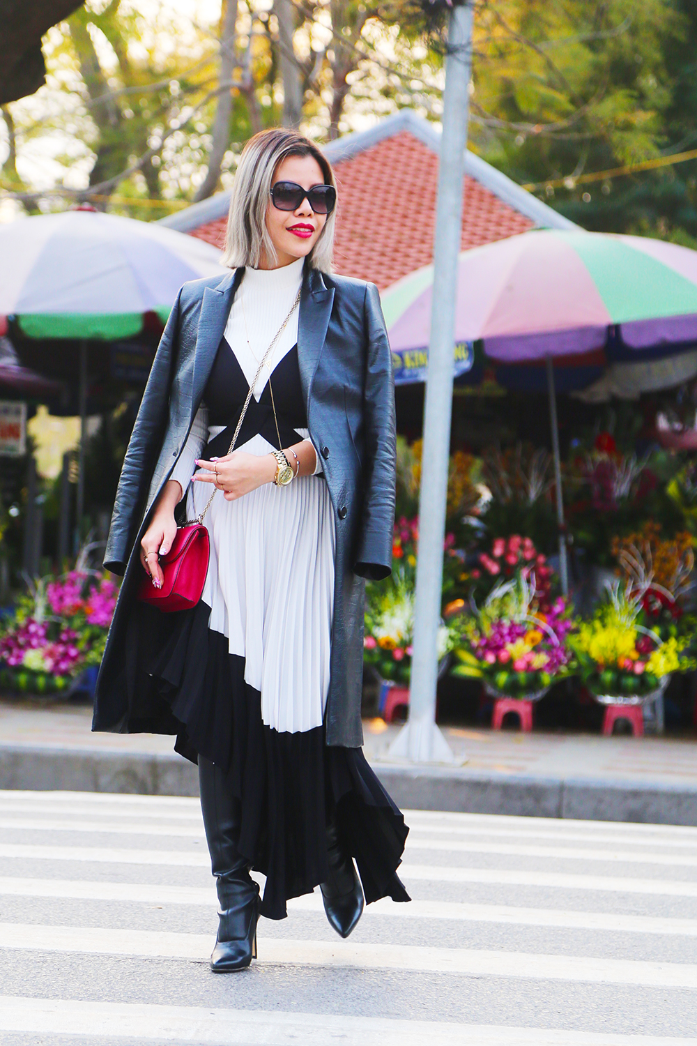 Crystal Phuong- Fashion Blogger- Winter layering